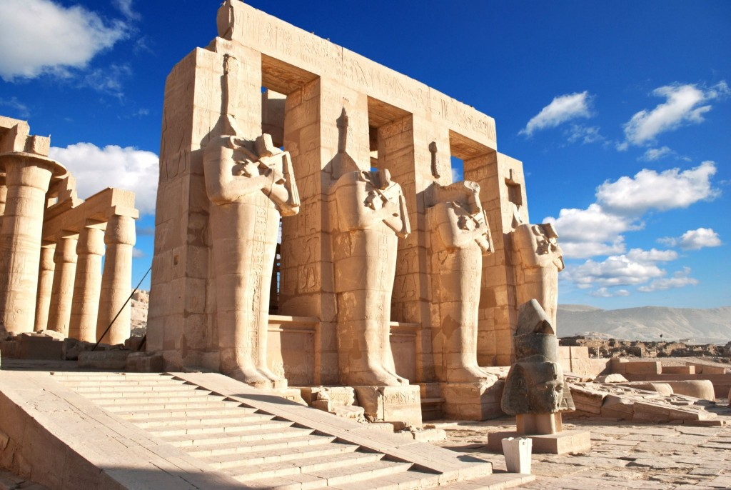 Rammeseum v Luxoru
