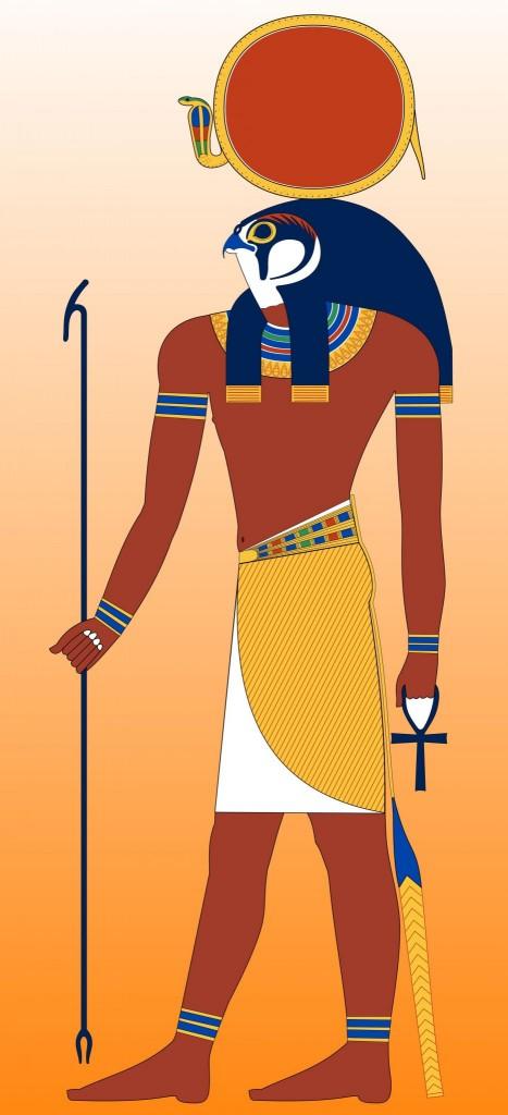 Re (Ra) - bůh slunce
