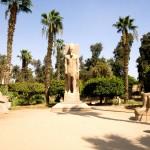 Socha Ramsese II. v Memfisu