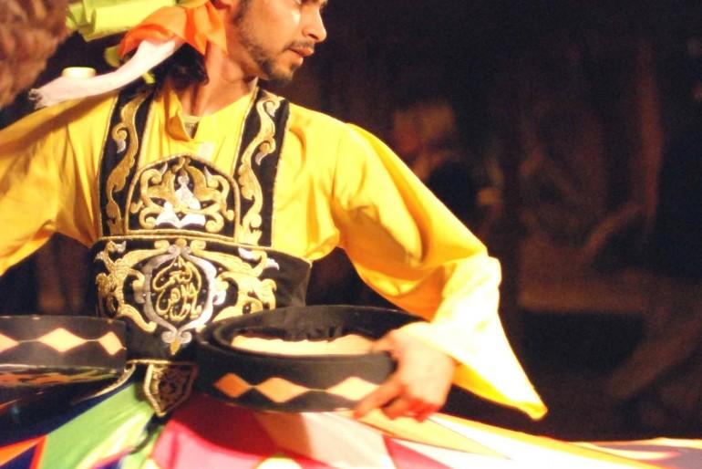 Tradiční egyptské mužské tance