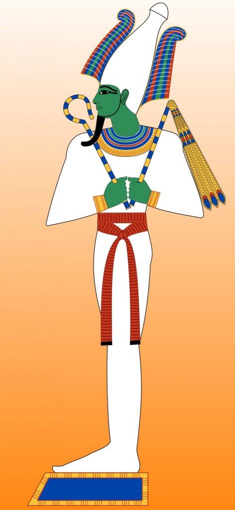 Usíris (Osiris) - bůh života, smrti a znovuzrození
