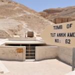 Vstup do Tutanchamonovy hrobky