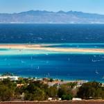 Záliv města Dahab