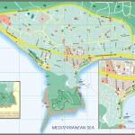 Mapa - Alanya