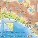 Mapa - Alanya, Manavgat, Antalya, Kemer