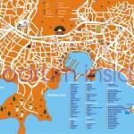 Mapa Bodrum