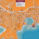 Mapa - Bodrum a Gumbet