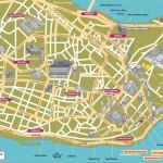 Mapa - Istanbul (jih, památky)