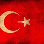 Vlajka Turecka - detailní