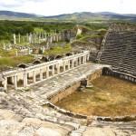 Antické divadlo města Afrodisias