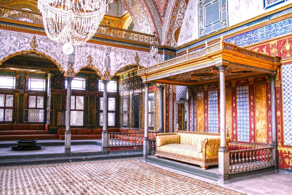 Audienční sál v paláci Topkapi
