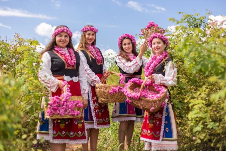 Festival růží v Bulharsku