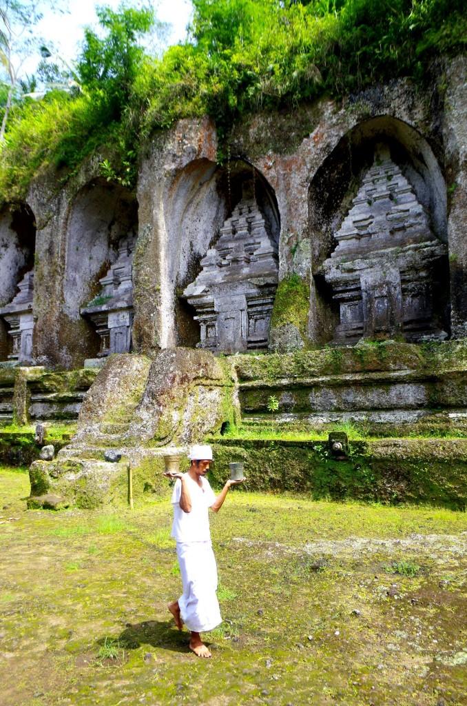 Gunung Kawi - hroby králů