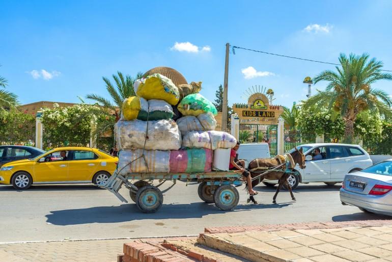 Doprava v Tunisku
