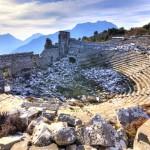 Kamenné město Termessos