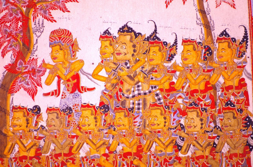 Kertha Gosa - nástropní malby
