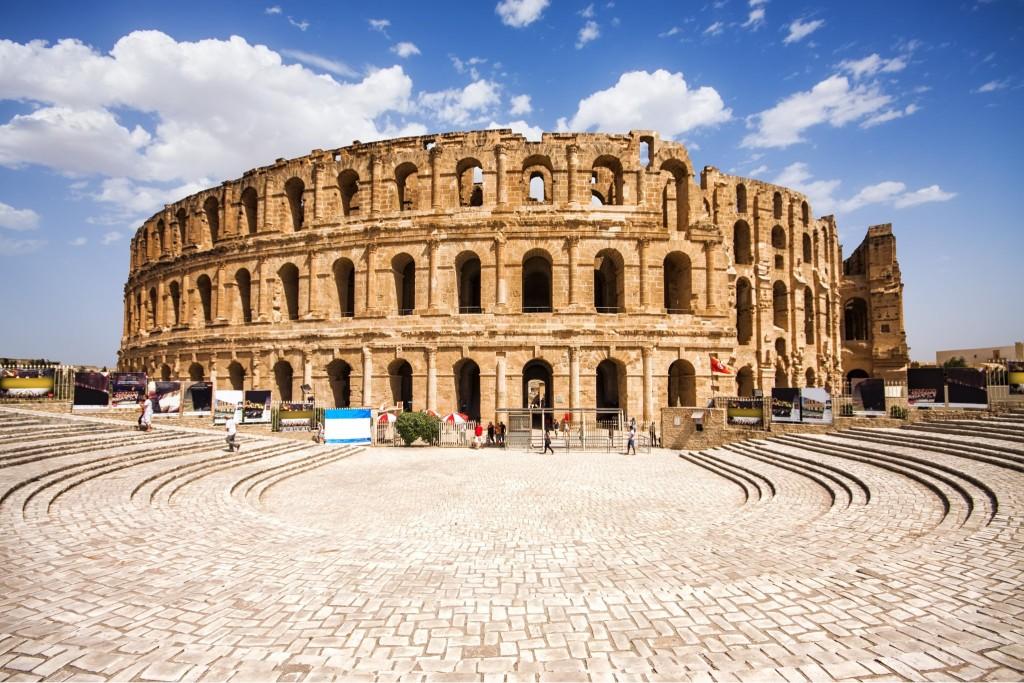 Koloseum ve městě El Djem