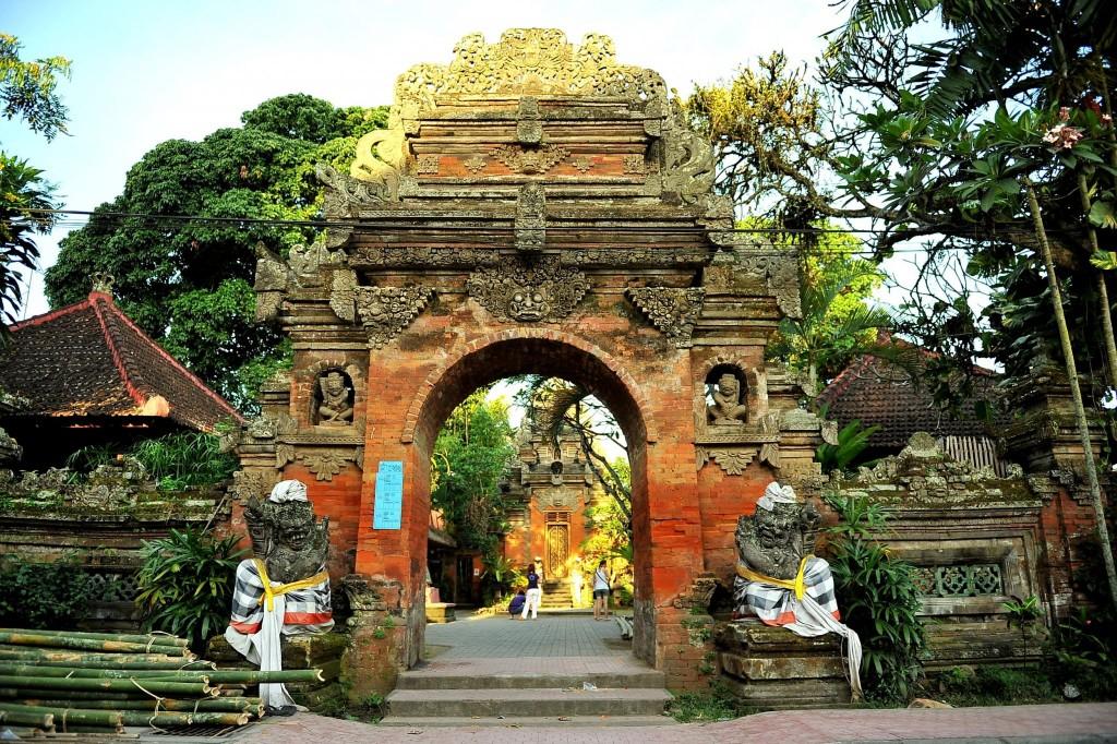 Královský palác Puri Saren v Ubudu