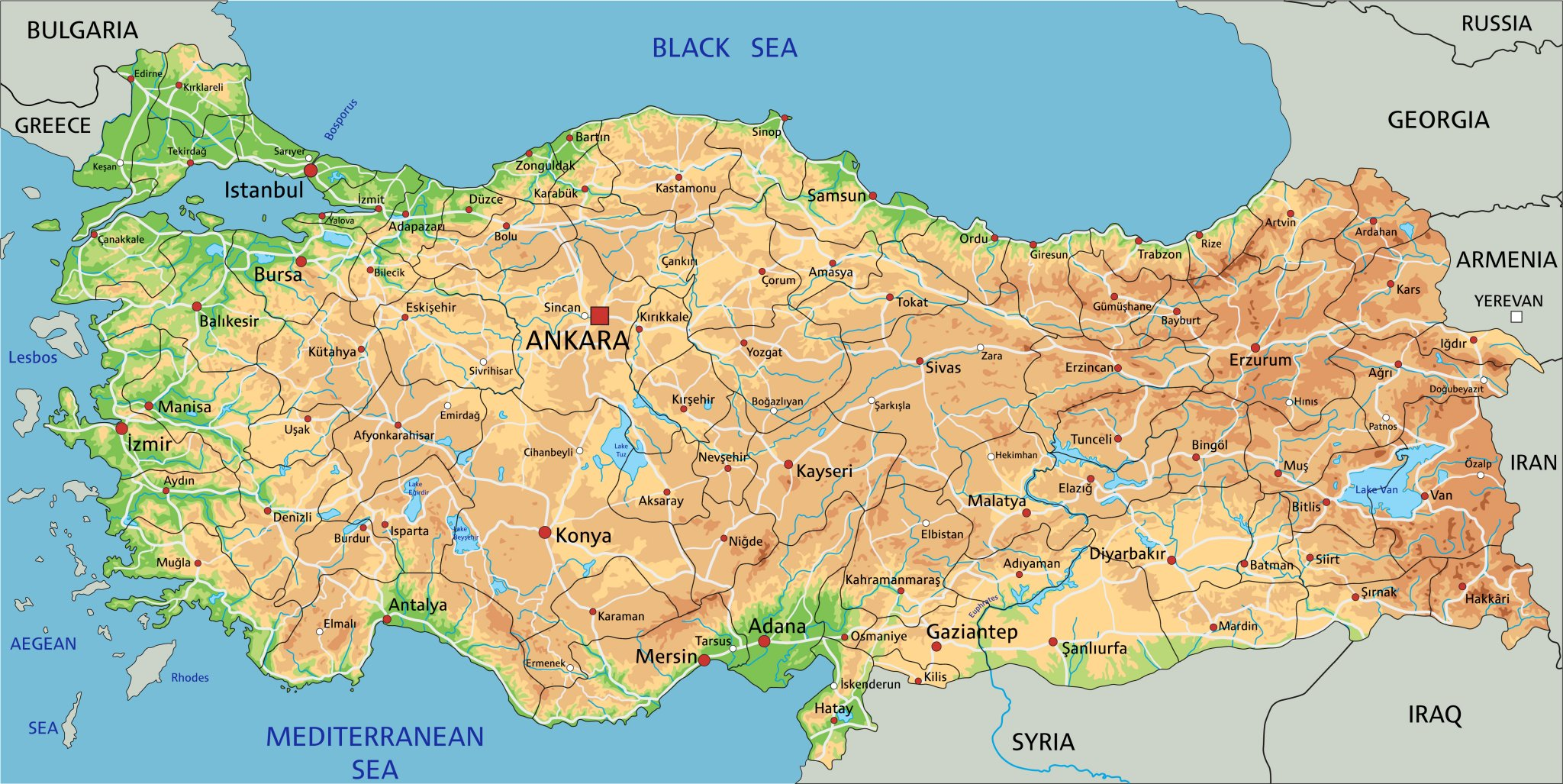Zakladni Informace O Turecku Turecko Mahalo Cz