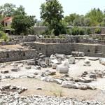 Mauzoleum ve městě Bodrum