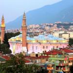 Mešita Ulu Camii – Velká mešita města Bursa