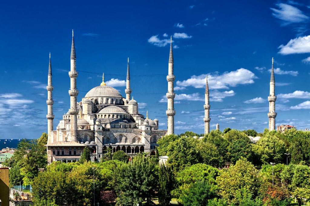Modrá mešita Istanbulu