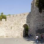 Pevnost Kadifekale ve městě Izmir
