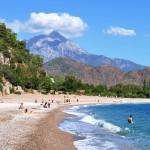 Pláž Olympos