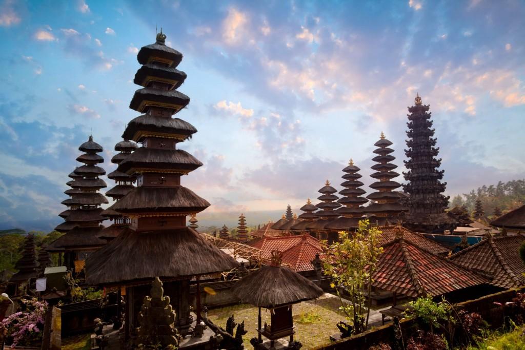 Pura Besakih - největší a nejposvátnější hinduistický chrám Bali