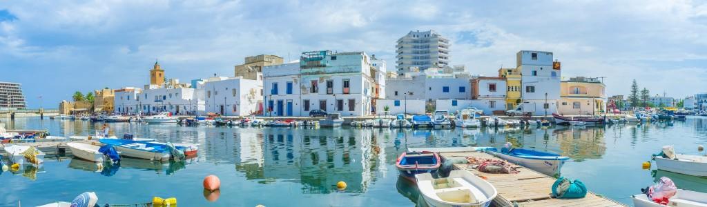 Starý přístav v Bizerte
