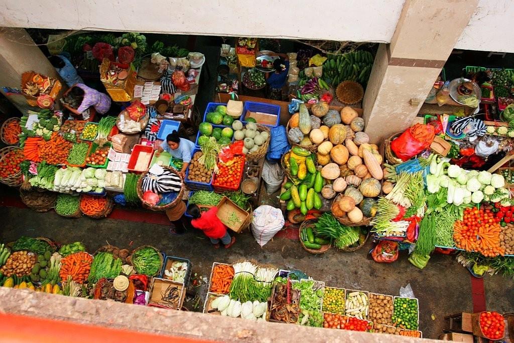 Tradiční tržnice v Denpasaru