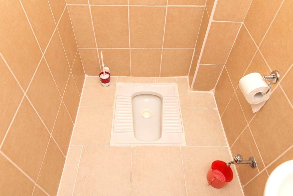Turecký záchod  – tuvalet