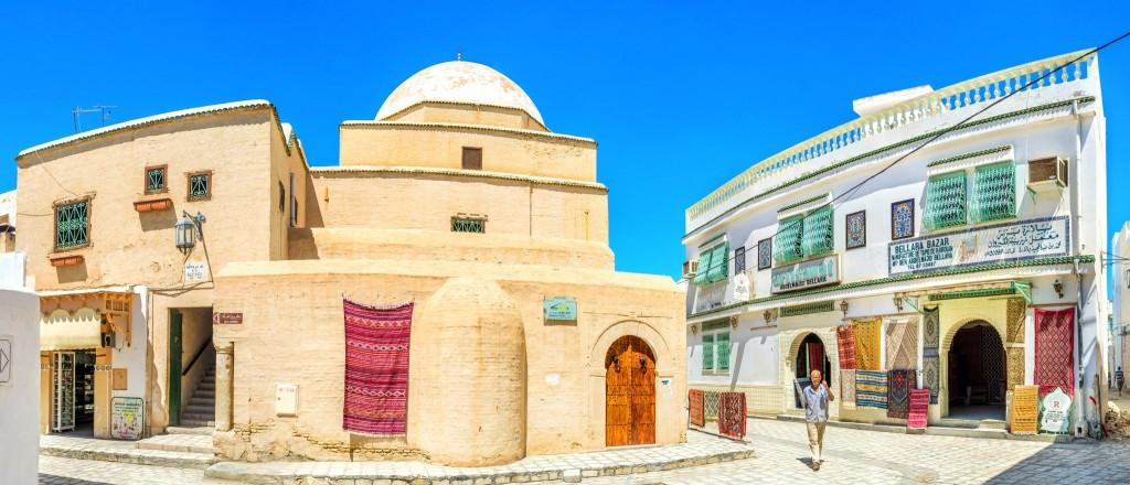 Ulice města Kairouan