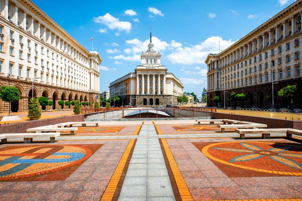 Architektura v centru Sofie