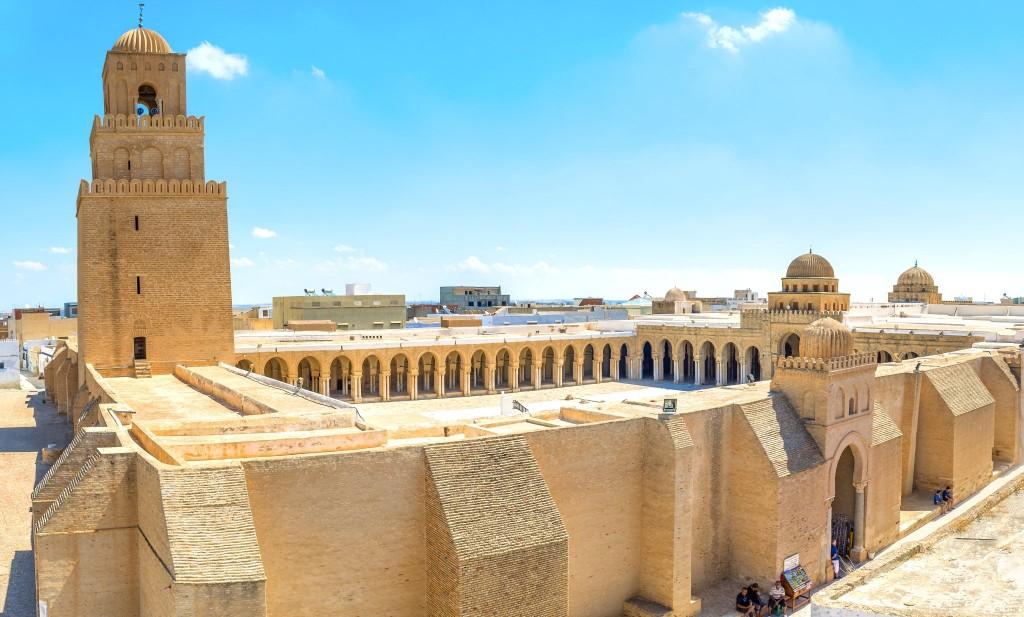 Velká mešita ve městě Kairouan