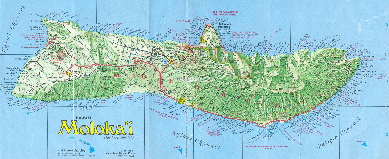 Pruvodce Po Ostrove Molokai Havajske Ostrovy Mahalo Cz