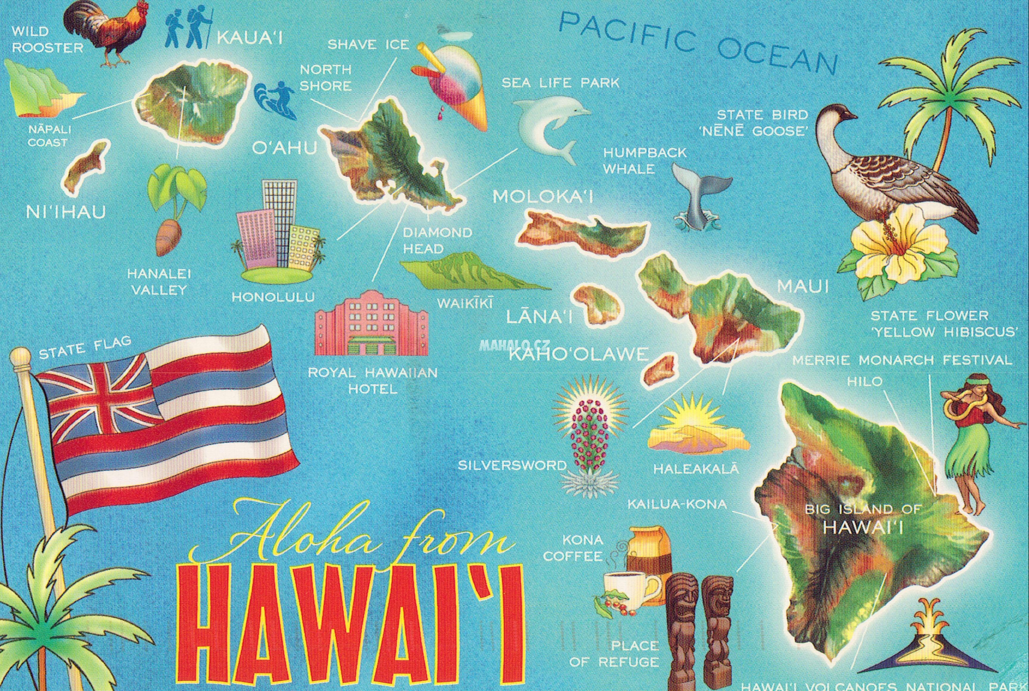 Stahujte Materialy Z Havajskych Ostrovu Havajske Ostrovy Mahalo Cz