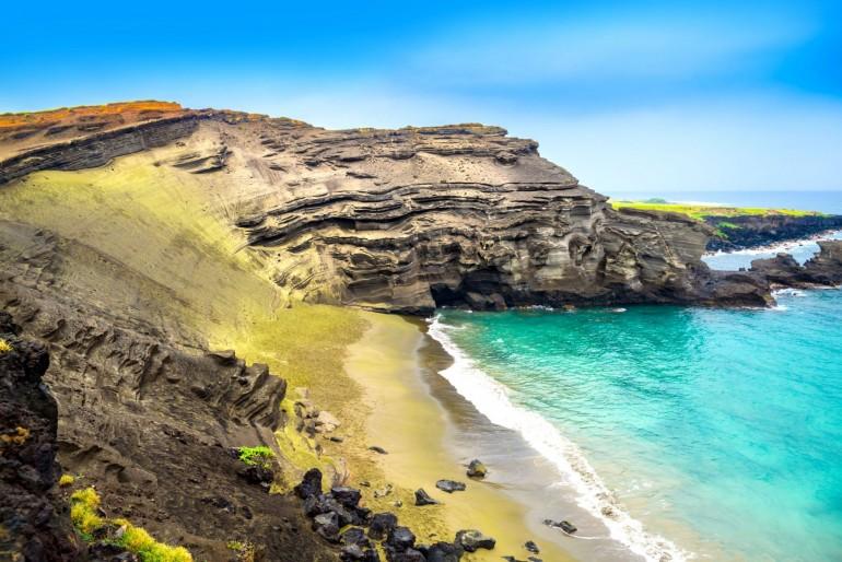 Papakōlea Beach – Green Sand Beach