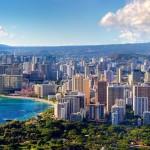 Honolulu z Diamond Head