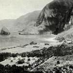 Kolonie malomocných na ostrově Molokai v roce 1922