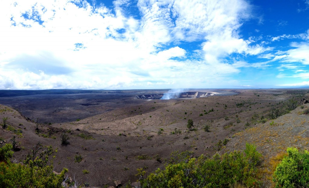 Kráter sopky Kilauea