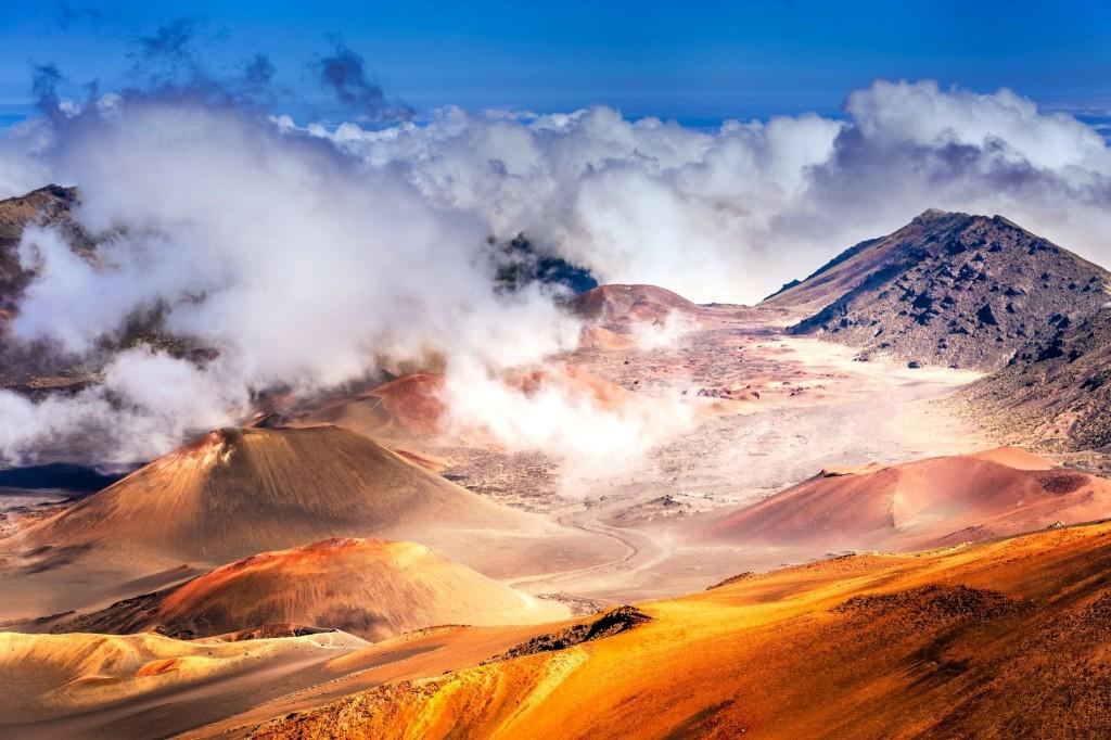 Magická krajina na sopce Haleakala