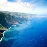 Pobřeží ostrova Molokai