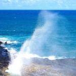 Přírodní vodotrysk Spouting Horn