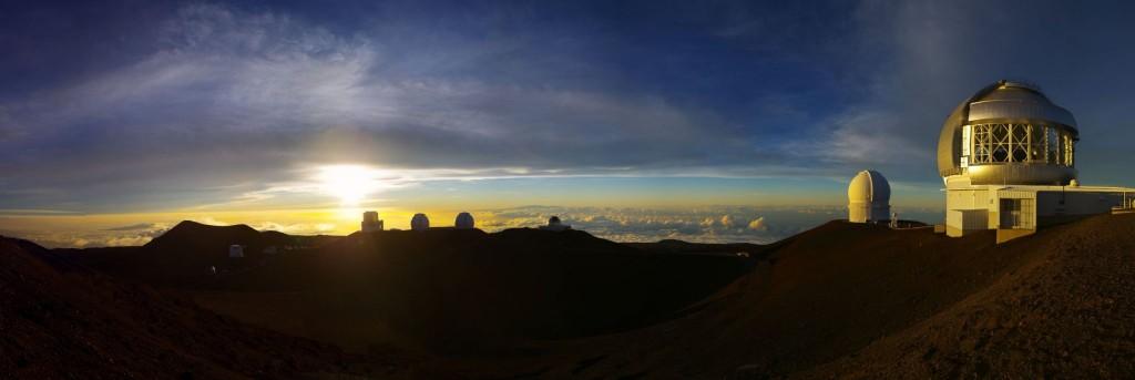 Výhled z Mauna Kea