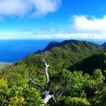 Výhledy na Pihea Trailu