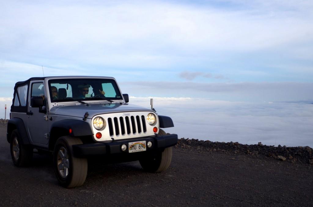 Výjezd na Mauna Kea