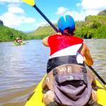 Wailua river na kajaku