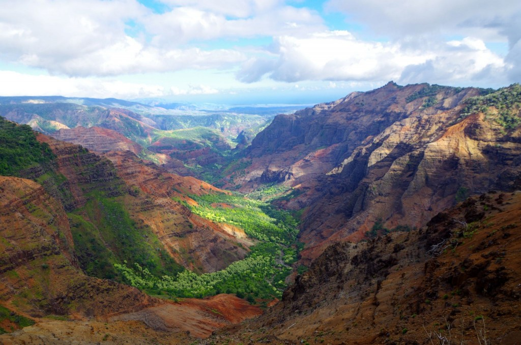Waimea Canyon - Grand Canyon Pacifiku