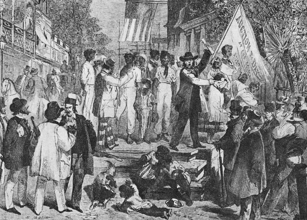 Aukce otroků na Kapverdských ostrovech